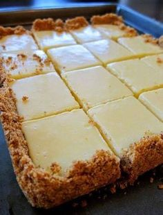 Weight Watchers Recipes and Tips. | CREAMY LEMON SQUARES
