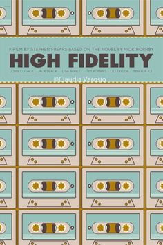 High Fidelity (2000) ~ Minimal Movie Poster by Claudia Varosio