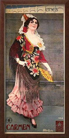 Carmen Giclee Print by F. Ballesler at AllPosters.com #carmen #opera #bizet