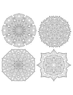 Excited to share the latest addition to my #etsy shop: Mandala Coloring Pages (4 sheets) - Digital Download http://etsy.me/2HVxhaL #art #print #digital #mandala #spiritual #coloringpage #adultcoloring #zen #relaxing