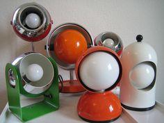 Mid-Century Modern Freak | Space Age Lamps! - Via