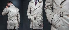 A Menswear Guide to Trench Coats and How to Style Them [SLIDESHOW] #menstyleguide