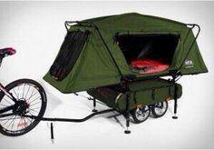 Met de fiets kamperen