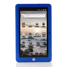 """Coby 7"""" Inch Kyros Touchscreen Internet Tablet 4G Android OS 2.3 Dark Blue - Coby MID7120-4G (Exclusive Color)..."""