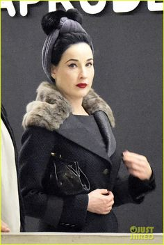 653410e9610 Dita Von Teese Says It s  Simple-Minded Rhetoric  If You Think Your Vote
