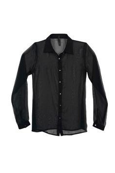 Ferriano Blusa Con Transparencia - $ 249.99