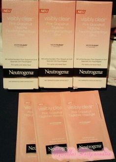 The test of the new Neutrogena Creme.