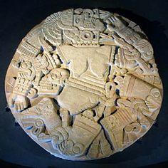 Aztec (Coyolxauqui, the moon goddess)