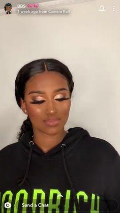Contour Makeup Videos For Black Women Black Girl Makeup, Girls Makeup, Glam Makeup, Beauty Makeup, Hair Makeup, Eye Makeup Steps, Hair Skin Nails, Contour Makeup
