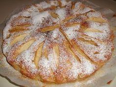 la mia torta di mele al crisp