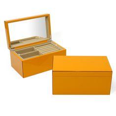 Swing Design Elle Jewelry Box in Orange
