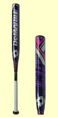 "Show your support for breast cancer awareness with the 2015 DeMarini CF7 Hope Fastpitch bat. The CF7 Hope has a two-piece composite design, -10 length to weight ratio and is approved for ASA, USSSA, NSA, ISA and ISF league play. It has a 12"" barrel that is hot right our of the wrapper thanks to the all Paradox Composite barrel design. It is backed by a 12-month manufacturer's warranty."