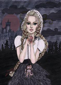 The Handless Maiden is my favorite fairytale.   SchirinNaegele.com