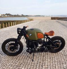 Bike Bmw, Cafe Racer Motorcycle, Bmw Motorcycles, Motorcycle Design, Vintage Motorcycles, Motorcycle Tips, Motorcycle Quotes, Custom Motorcycles, R Cafe
