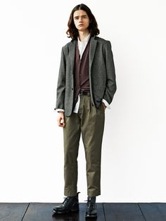 70s Outfits, Cool Outfits, Fashion Outfits, 70s Fashion Men, Casual Wear For Men, Margaret Howell, Androgynous Fashion, Korean Street Fashion, Smart Casual