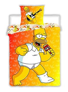 Simpsons Homer Dancing Reversible Single Duvet Cover & Pi... https://www.amazon.co.uk/dp/B00YD1X4KU/ref=cm_sw_r_pi_dp_ChCrxb5EQMP4E