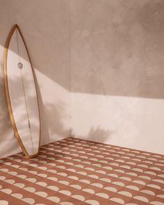 Beach Club Cement Tile Collection by Sarah Ellison for Teranova Floor Design, Tile Design, Decor Interior Design, Interior Decorating, Decorating Games, Style Californien, Design Exterior, Interior Stylist, Floor Decor