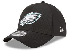 cheaper 303e6 cffdf Philadelphia Eagles New Era 2017 NFL On Field Color Rush 39THIRTY Cap