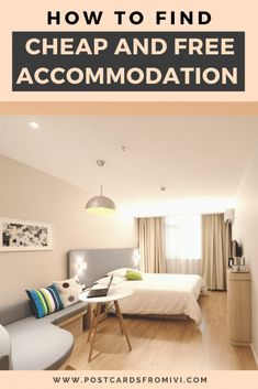 The best tips on how to find cheap and free accommodation #accommodation #cheap #budget #travel #hotels Budget Travel, Travel Blog, Travel Hacks, Travel Tips, Hostels, Travel Fund, Small Places, Cool Apartments, Best Budget