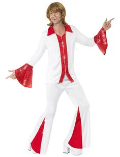 70s disco costume - perfect as an Abba costume or Eurovision fancy dress!