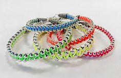 Fluorescent Bracelets free project sheet!