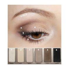 Mandelformade ögon tutorial