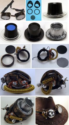 Steampunk diy 702702348094434649 - Saxton Goggle Process by on DeviantArt Source by serhatikiz Steampunk Accessories, Steampunk Clothing, Steampunk Fashion, Cosplay Tutorial, Cosplay Diy, Cosplay Costumes, Steampunk Goggles, Steampunk Cosplay, Steampunk Crafts