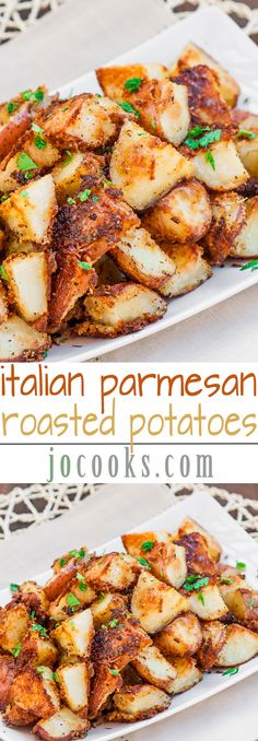 Italian Parmesan Roasted Potatoes – full of flavor and deliciousness, all you have to do is enjoy them.