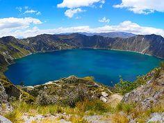 paisajes de lagunas del ecuador - Buscar con Google