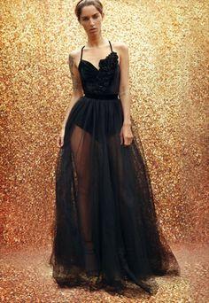 Long+tulle+skirt+with+velvet+top 30th Birthday Dresses 5e7857e48a0a