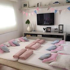 Veja como montar uma festa do pijama em casa.
