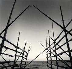 Rolfe Horn  Drying Racks, Wajima, Japan. 2004