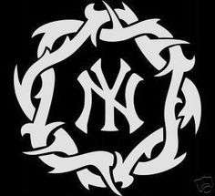 New York Yankees cars | NY YANKEES NEW YORK WIRE LOGO STICKER DECAL CAR WINDOW [md-00025] - $8 ...