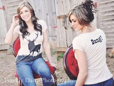 Country Girl Clothing | DANG! Big Buck Country Girl Shirt | CLOTHES