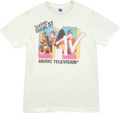 spring breakers mtv t shirt