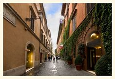Hotel Manfredi a Piazza di Spagna by the Spanish Steps Rome boutique | Hotel Manfredi Via Margutta Rome