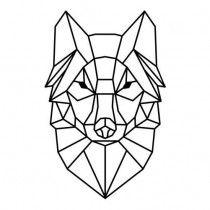 New Ideas for origami illustration geometry tattoo ideas Geometric Wolf, Geometric Drawing, Skull Design, Design Art, Minimal Art, Wolf Design, Wolf Tattoos, Stock Foto, String Art