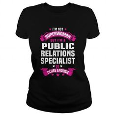 Cool and Awesome Public Relations Specialist Shirt Hoodie