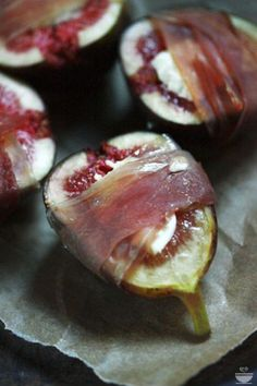Prosciutto met vijgen (uit de oven)... ga naar de bron voor het recept.