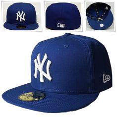 low priced 98b53 20da3 New Era 59Fifty Basecap New York MLB royal blau - mycap24