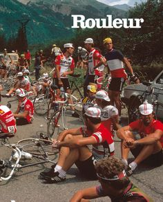 Harry Gruyaert: Issue 12, Sit-in at the 1982 Tour de France