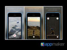 APLICACIONES MÓVILES ¿Qué es hyperlapse? APP MAKER Hyperlapese, la nueva herramienta de Instagram, tiene una tecnología de estabilización de imagen que permite realizar composiciones fotográficas en movimiento (timelapses). La tecnología 'timelapse', requiere mantener fija la cámara al momento de tomar las imágenes. Hyperlapse cuenta con tecnología de estabilización que permite crear imágenes en movimiento. www.appmaker.mx
