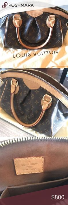 Louis Vuitton Tivoli PM Barely used, just collecting Dust ... No Trade! Still selling in the boutique for 1600 plus taxs ... sorry box got destroyed Louis Vuitton Bags Totes