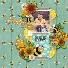 kit: If I Were A Bee Bundle Collection by Paty Greif https://www.pickleberrypop.com/shop/product.php?productid=38185&page=1  template: Splish Splash by Dagi's Temp-tations http://store.gingerscraps.net/Splish-Splash.html