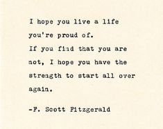 Inspirational Quote THE F. SCOTT FITZGERALD - Quote Made On Cardstock with Vintage Typewriter quotes quotes deep quotes funny quotes inspirational quotes positive Book Quotes Love, Quotes Dream, Life Quotes Love, Change Quotes, Quotes To Live By, Great Gatsby Quotes, Best Literary Quotes, Best Quotes From Books, Unique Quotes