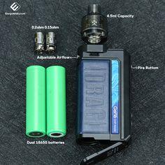 Check the details of VOOPOO DRAG MAX. Like @elegomallcom for more vape gear. Warning: This product contains nicotine. Nicotine is an addictive chemical. #elegomall #voopoo #voopoodragmax #vape #vapelife #vapenation #vapecommunity #vapedaily #vapepen #vapepod #vapesociety #vaper #vapeon Vaping Devices, 18650 Battery, Vape, Kit, Check, Smoke, Electronic Cigarette, Vaping, Electronic Cigarettes