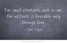 Carl Sagan quotation