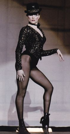 "Ann Reinking  *from Bob Fosse's ""All That Jazz"", one of my all time favorite musicals. ""take off with us....""*"
