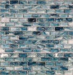 BuildDirect: Glass Mosaic - Blue Cotton | 1