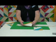 Daniela shows how to use the Strip Tube Ruler to make fast, easy, and fabulous quilt blocks from strips.